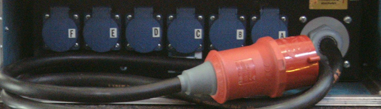 32A Stromverteiler 19 Zoll