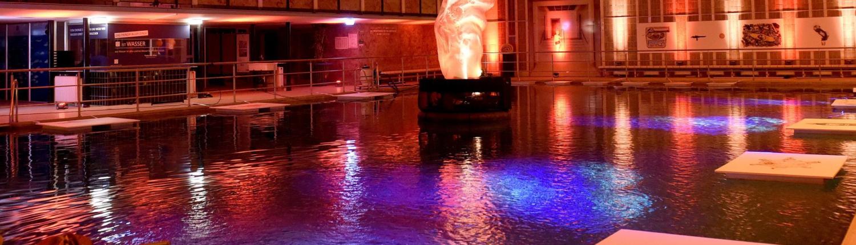 Flamelight Hallenbad Night of Light