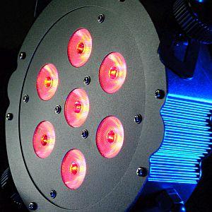 TriPar RGB 7x3W