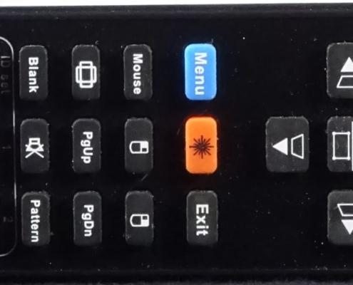 Viewsonic Beamer Pro 8530 HDL Remote