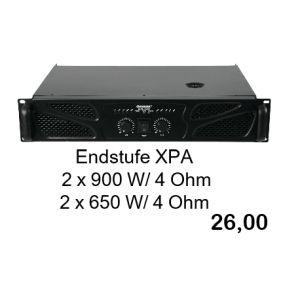 Omnitronic XPA 1800 Endstufe