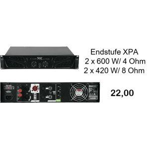 Omnitronic XPA 1200 Endstufe