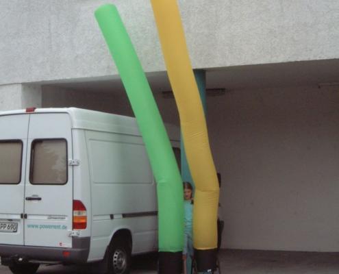 Airtube 4m grün und gelb