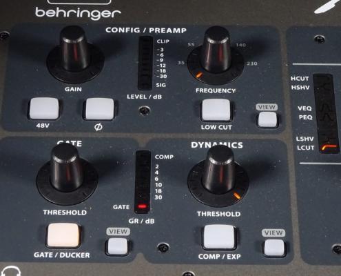 Behringer X32 Fullsize Gainsection
