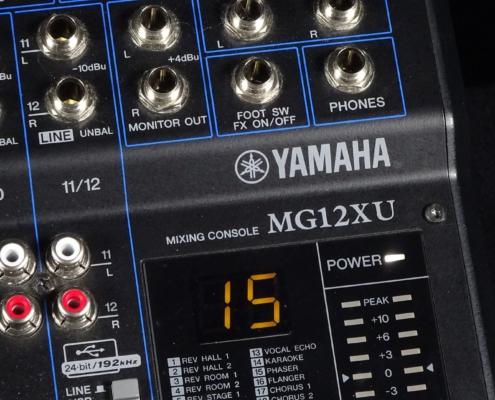Yamaha MG12XU Logo