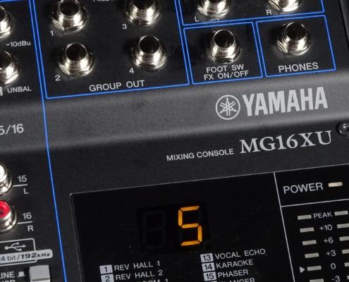 Yamaha MG16XU Logo