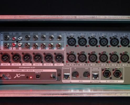 Behringer X32 Rack Back