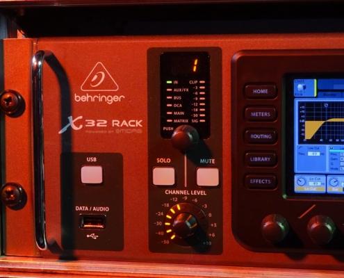 Behringer X32 Rack USB-Channel