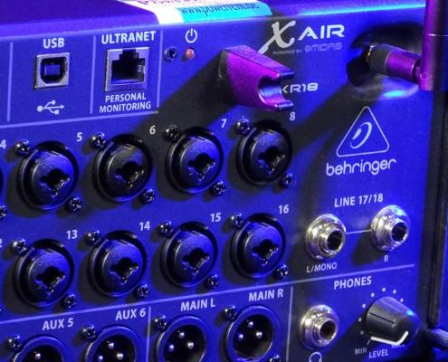 Behringer XR18 WLAN
