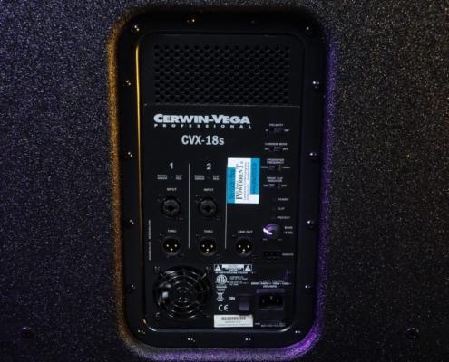 CerwinVega CVX18S Amp