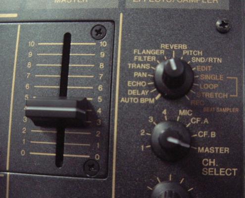 Pioneer DJM600 Selector
