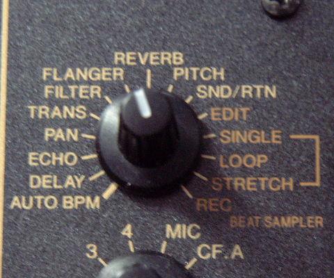 Pioneer DJM600 Effekt