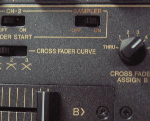 Pioneer DJM600 Crossfaderr