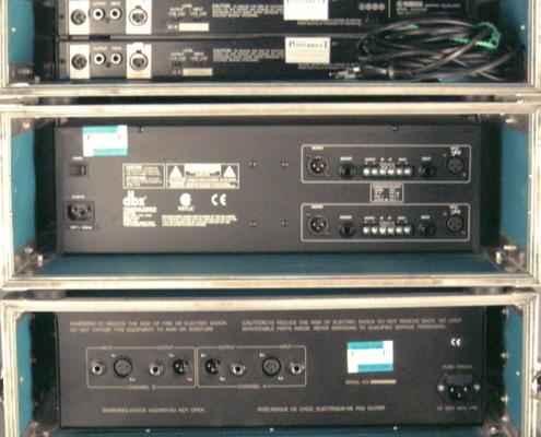 Qs Yamaha dbx dap Rückseite