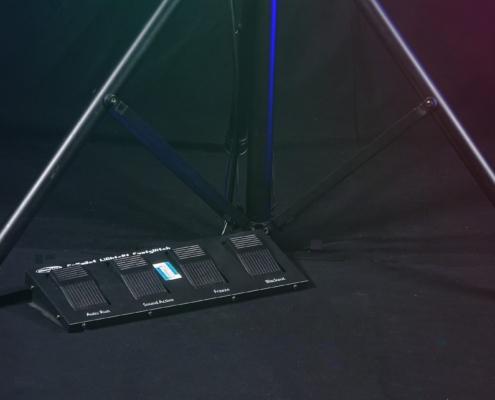 Fuß-Schalter LED-Lichtanlage-7x3W
