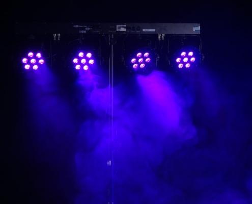 LED-Lichtanlage-7x3W