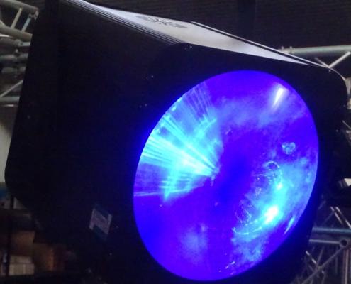 LED Tunnel Lichteffekt