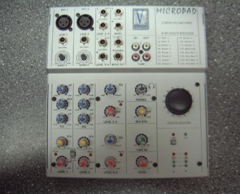 Micropad mit Hall