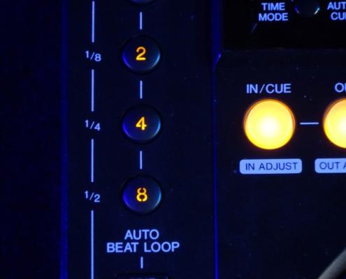 Pioneer CDJ850 Auto Beat Loop