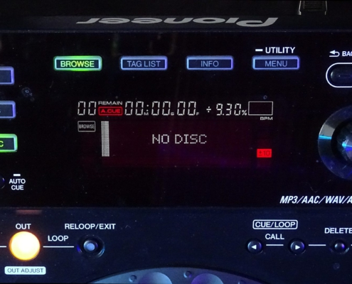 Pioneer CDJ850 Display