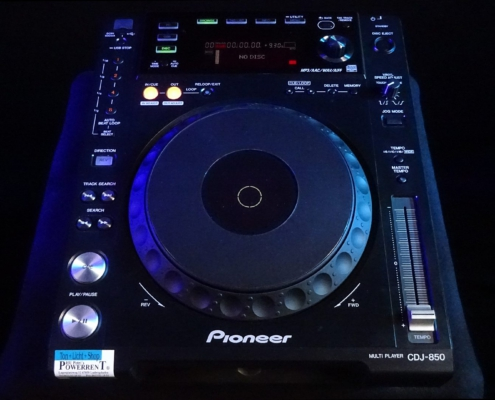Pioneer CDJ850 CD Player