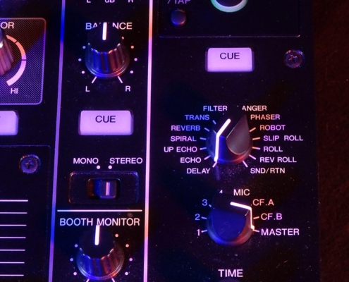 Pioneer DJM850 Effekte