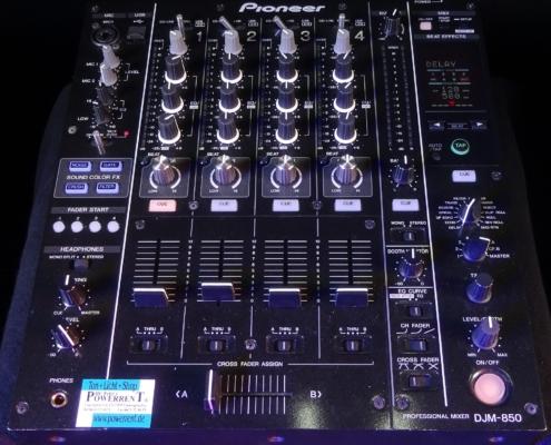 Pioneer DJM850 Top