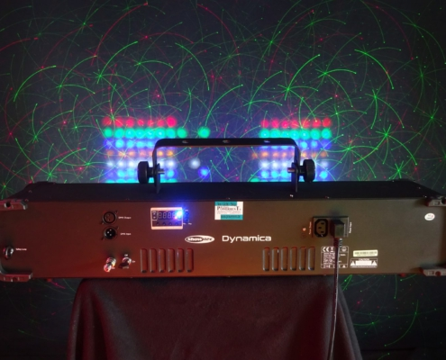 Dynamica Lichteffekt Laser LED