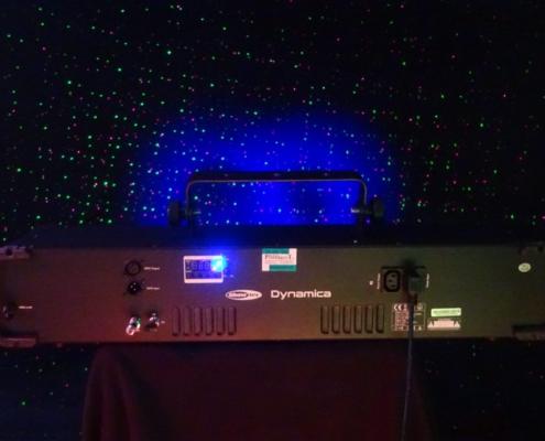 Showtec Dynamica Lichteffekt Laser UV