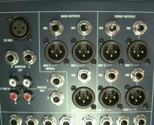 Soundcraft GB4 32 MainOut