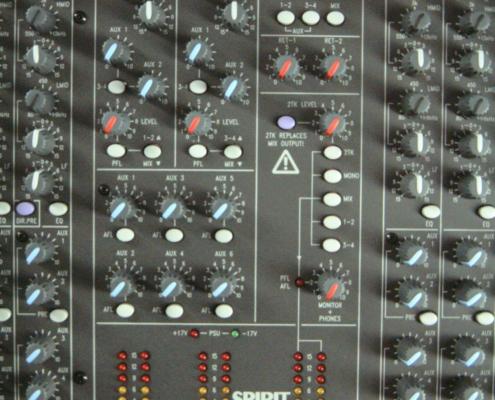 Soundcraft LX7 Aux