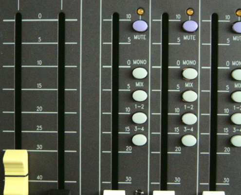 Soundcraft LX7 Routing