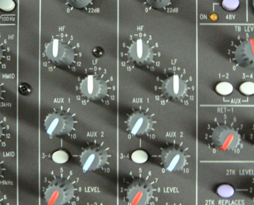 Soundcraft LX7 Stereo-Input