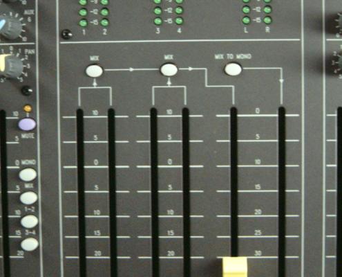 Soundcraft LX7 Master