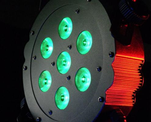 LED Spot TriPar RGB