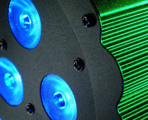 LED Spot RGB 7x3W
