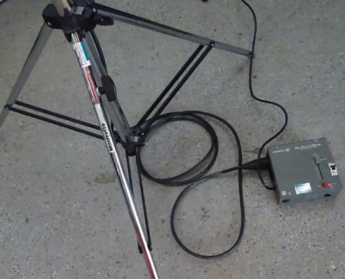 Video Fluter Lichtanlage Stativ
