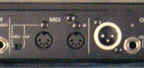 Yamaha SPX 990 Buchsen