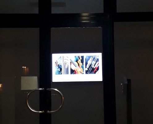 Werbedisplay Foyer