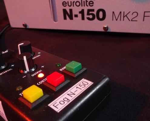 Eurolite N-150 Nebelmaschine Seite