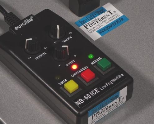 Eurolite NB-60 ICE Bodennebelmaschine Remote
