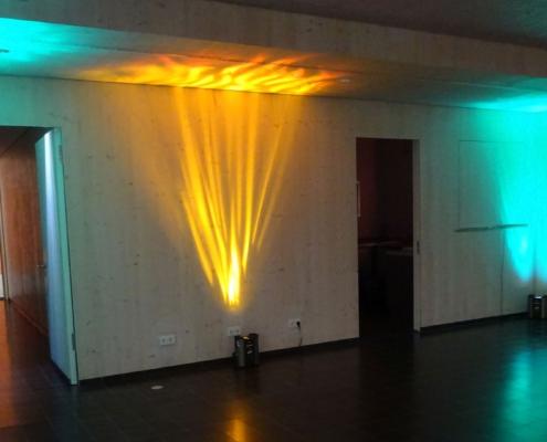 Firmenevent Wandbeleuchtung Martin DC