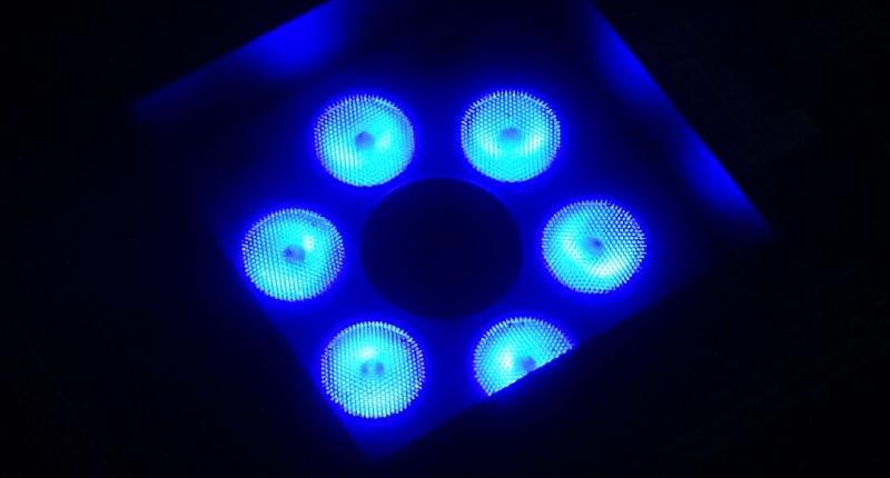 Showtec Dragon Fogjet LED Nozzle Blau