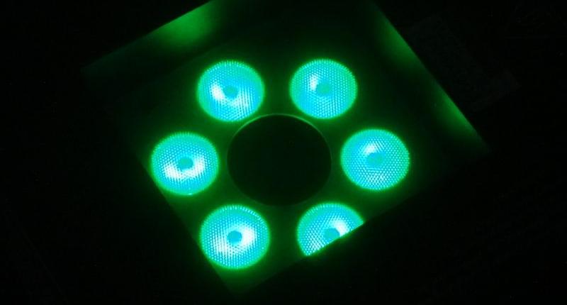 Dragon Fogjet LED Nozzle grün