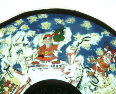 Wheel Santa Claus