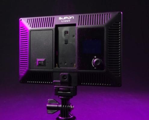 Kameralicht im Netzbetrieb