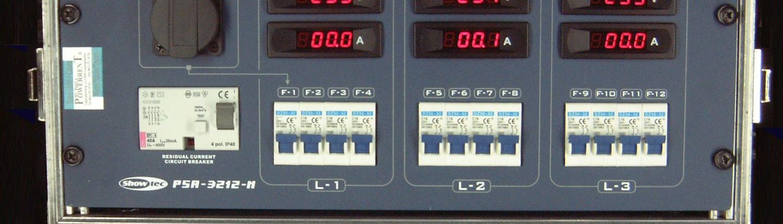 PSA3212 Stromverteiler 32A Front