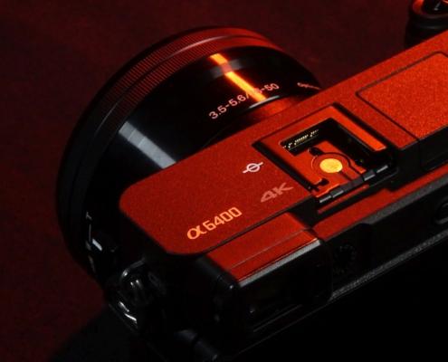 Blitzschuh Sony A6400