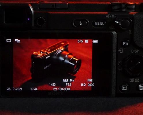 Display Sony A6400