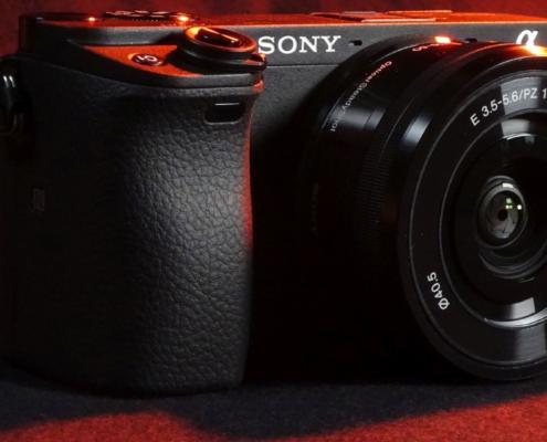 Sony A6400 Front 16-50mm OSS Objektiv
